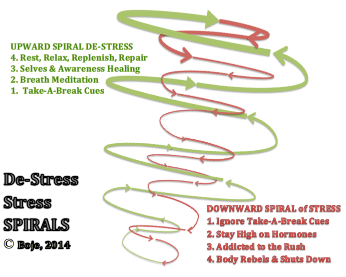Spiral within Spiral of Stress Boje 2014