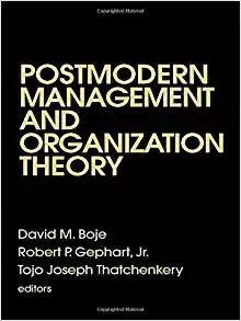 Postmdoern Org Theory Book Cover
