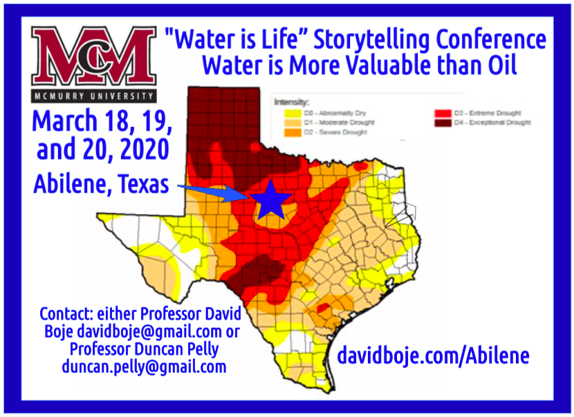 Water Storytelling Conference 2019