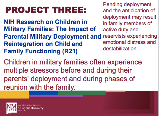 effects of deployment on families and